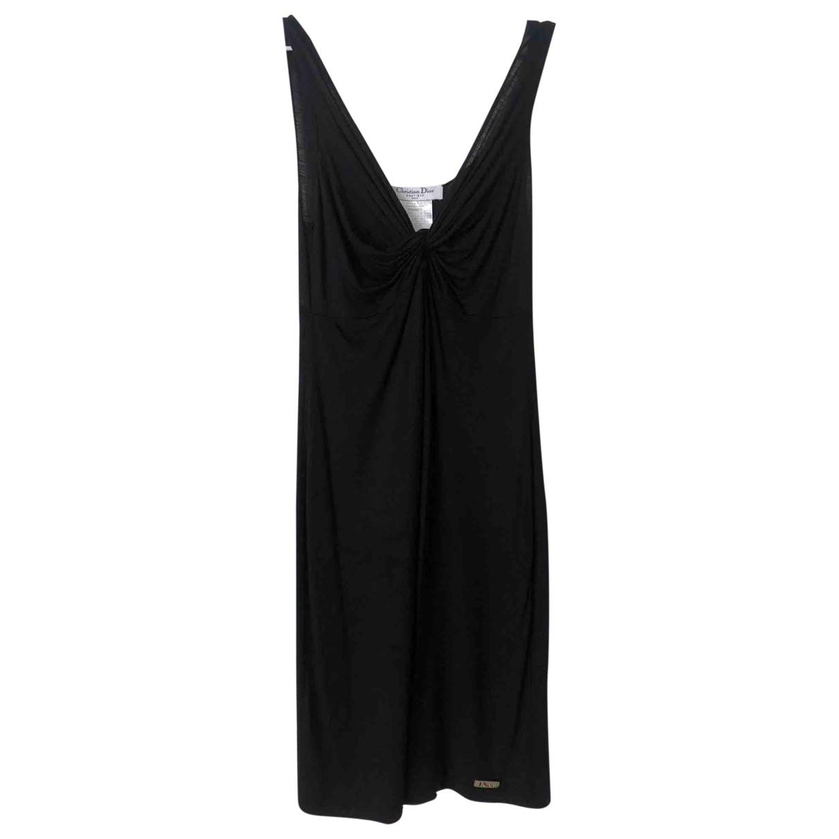 Dior \N Kleid in  Schwarz Viskose