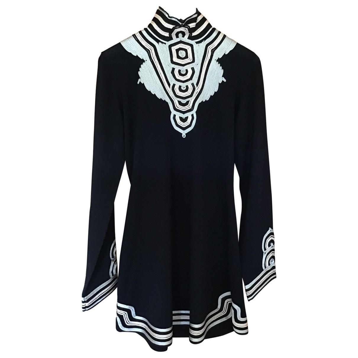 Temperley London \N Blue Silk Knitwear for Women XL International