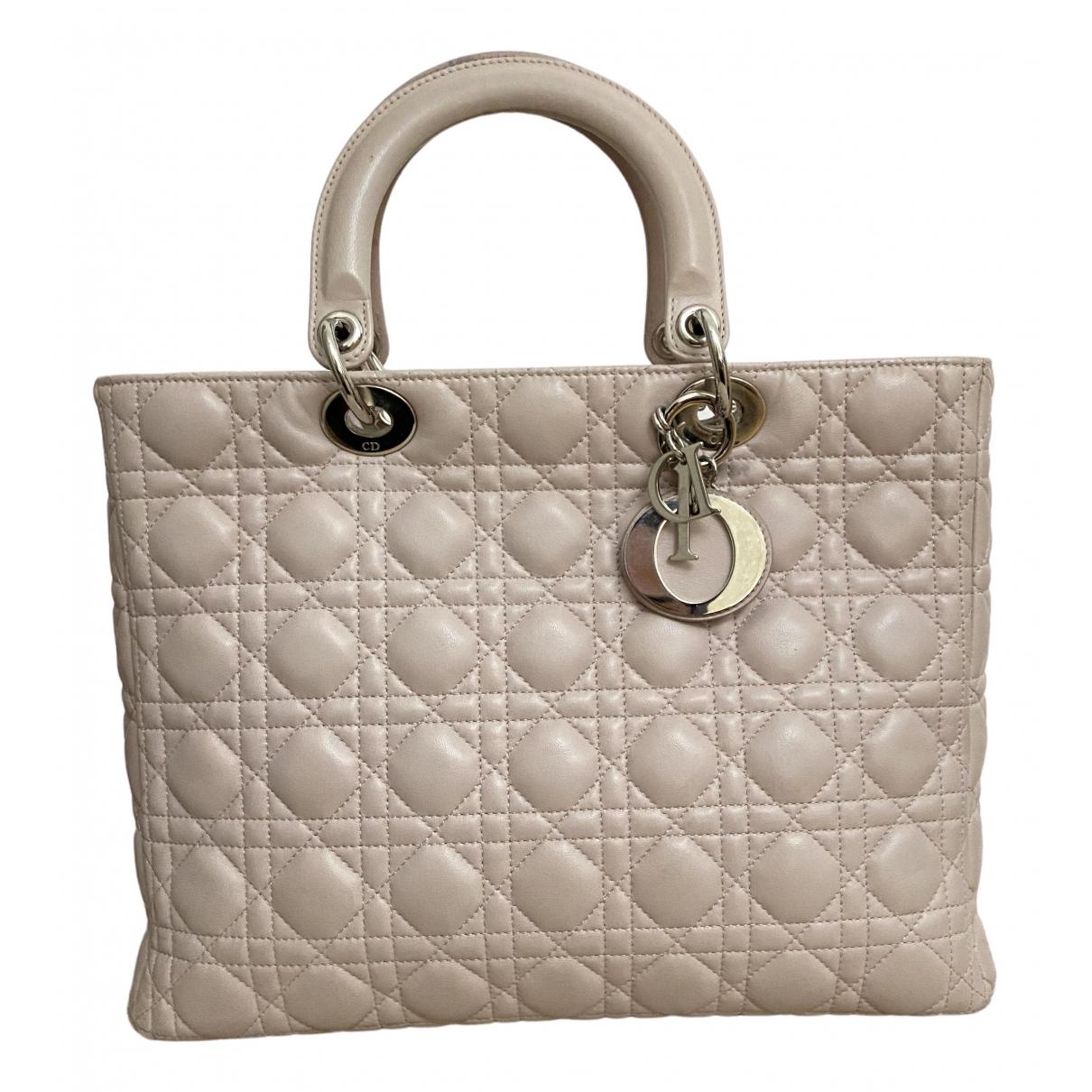 Bolso  Lady Dior de Cuero Dior