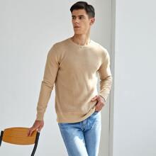 Men Round Neck Sweater