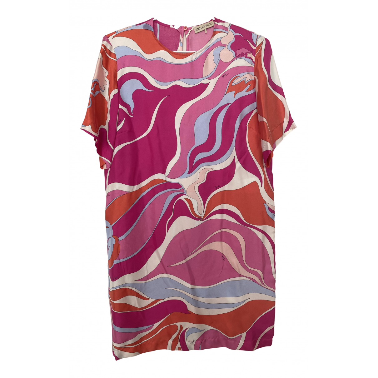 Emilio Pucci \N Multicolour Silk dress for Women 40 IT