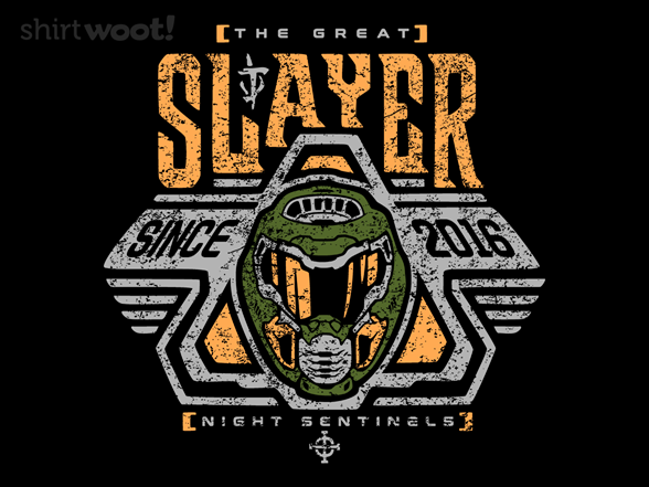 Space Slayer T Shirt