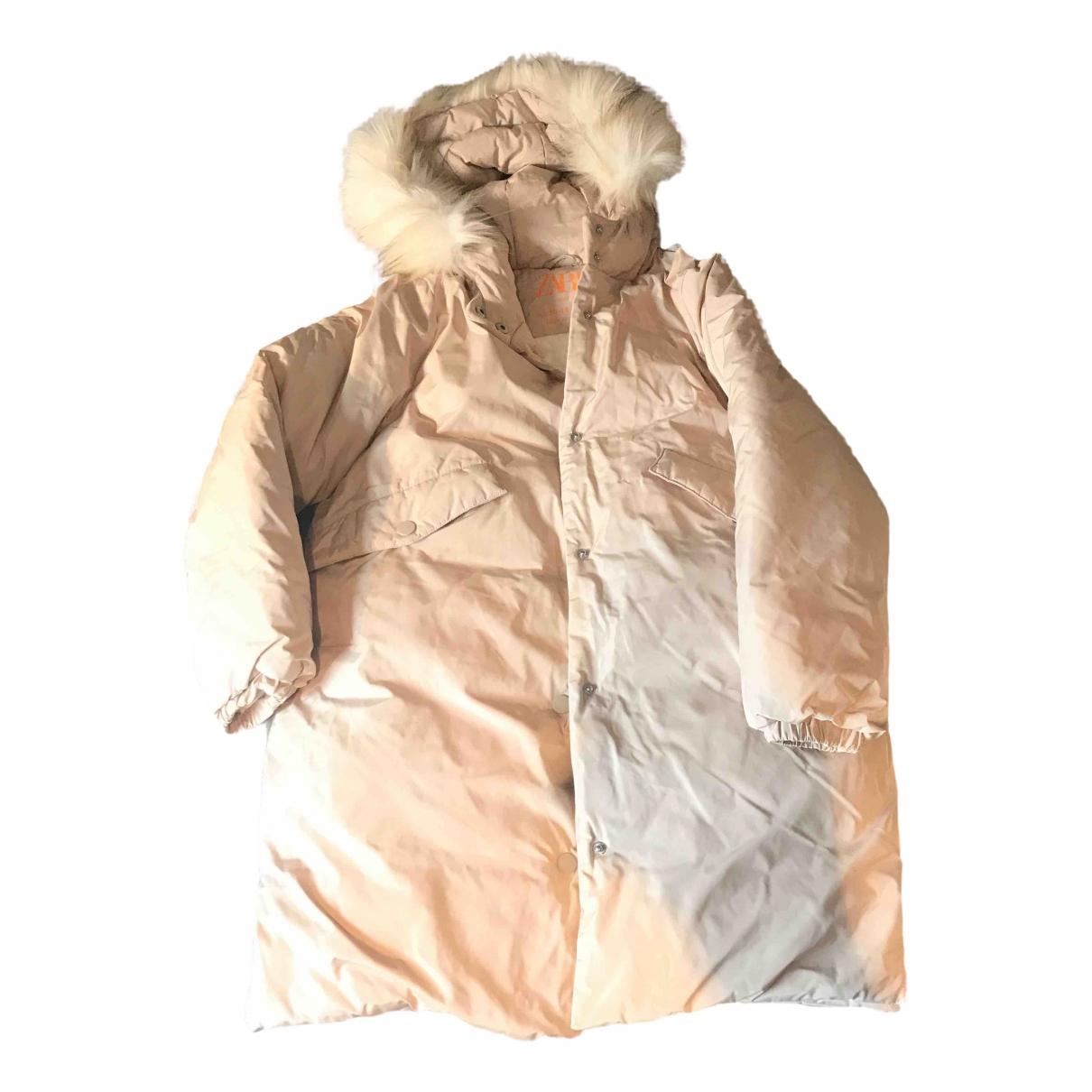 Zara - Manteau   pour femme - beige