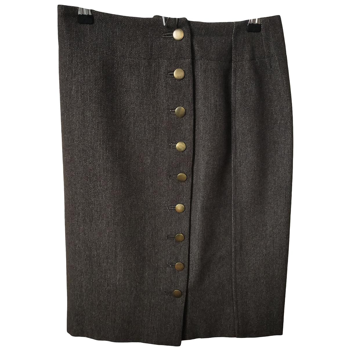 Falda de Lana Louis Vuitton