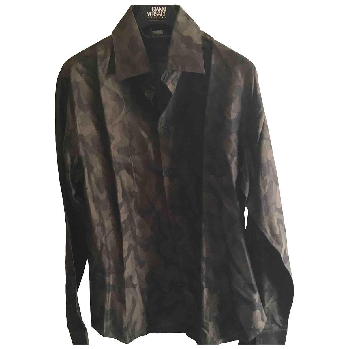 Gianni Versace \N Hemden in Baumwolle
