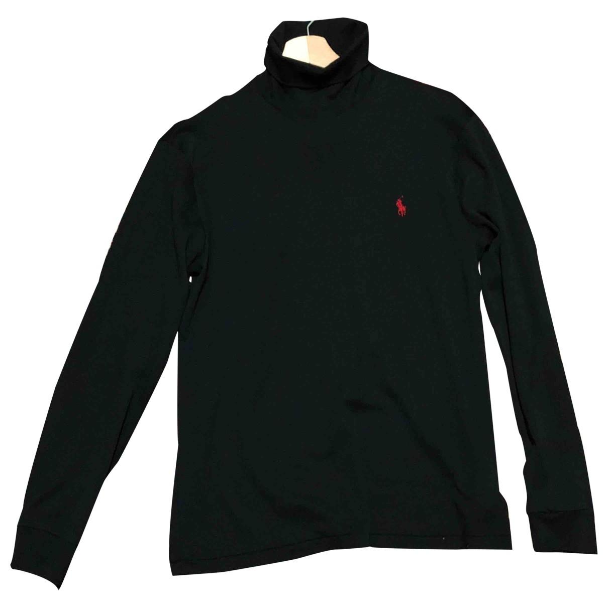 Polo Ralph Lauren \N Black Cotton Knitwear & Sweatshirts for Men S International