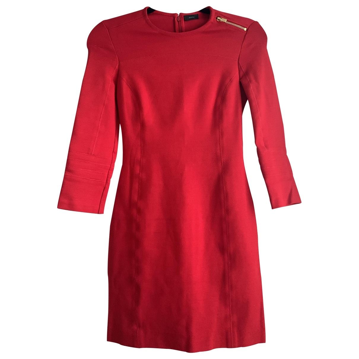 Joseph \N Kleid in  Rot Viskose