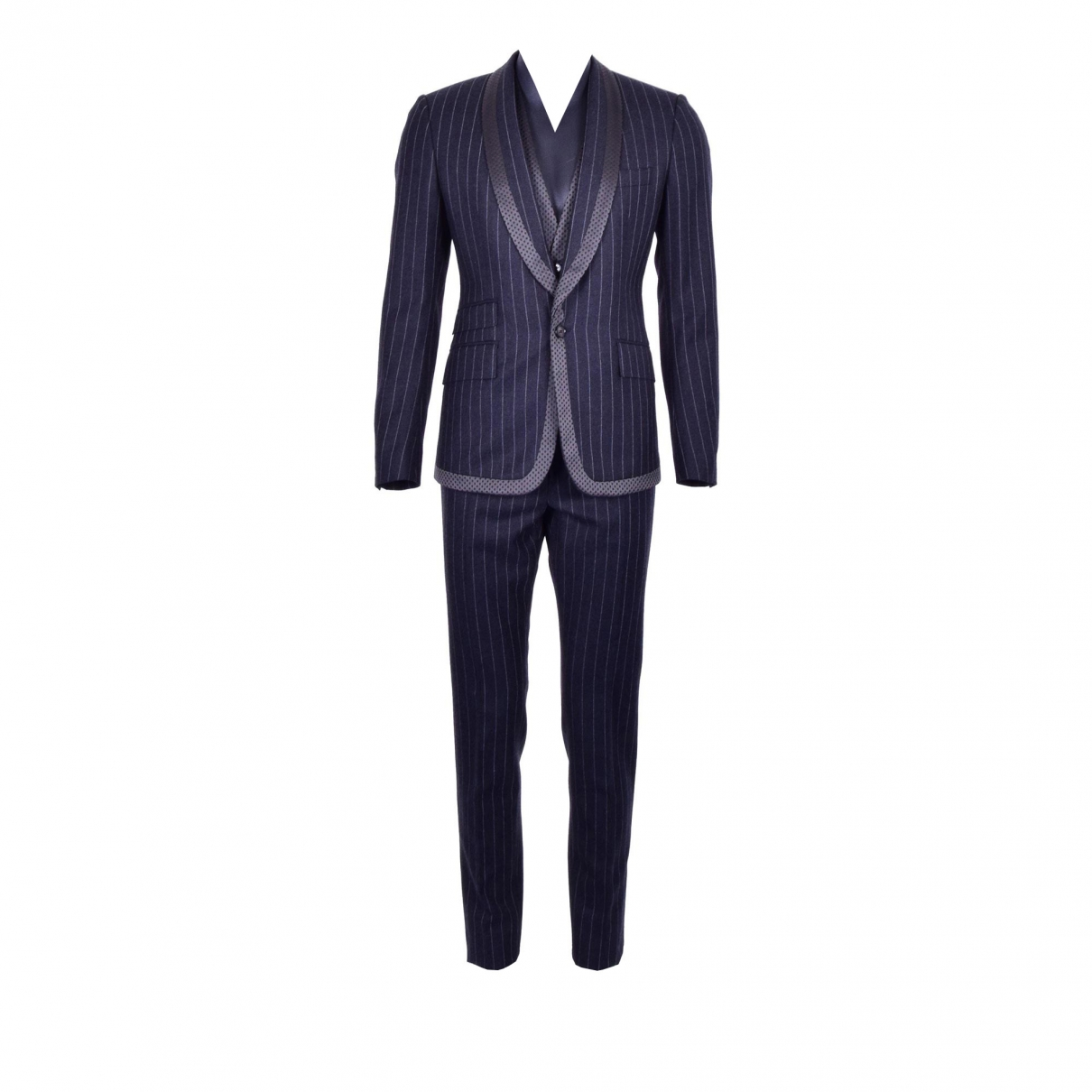 Dolce & Gabbana \N Grey Wool Suits for Men 50 IT