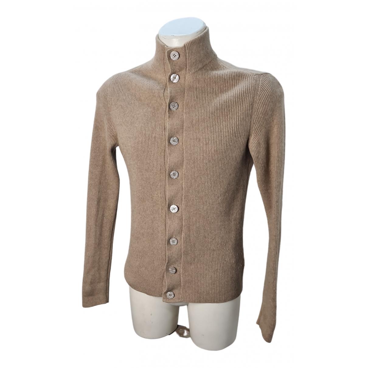 Non Signe / Unsigned \N Pullover.Westen.Sweatshirts  in  Beige Kaschmir