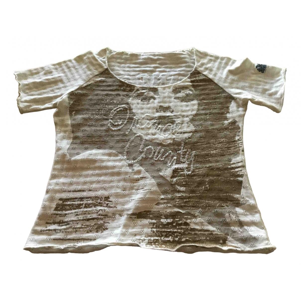 Sundek \N White Cotton  top for Women S International