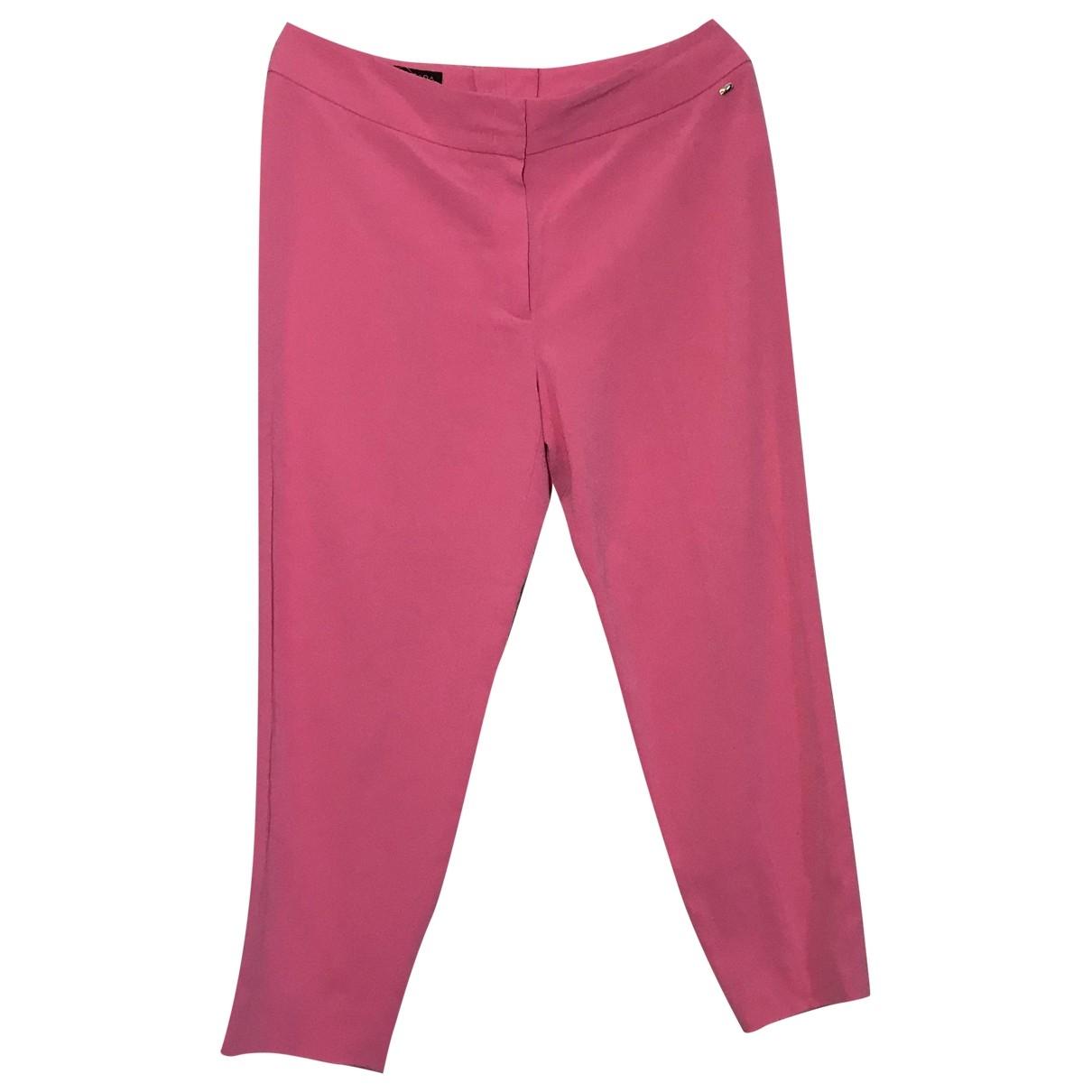 Pantalon en Sintetico Rosa Escada