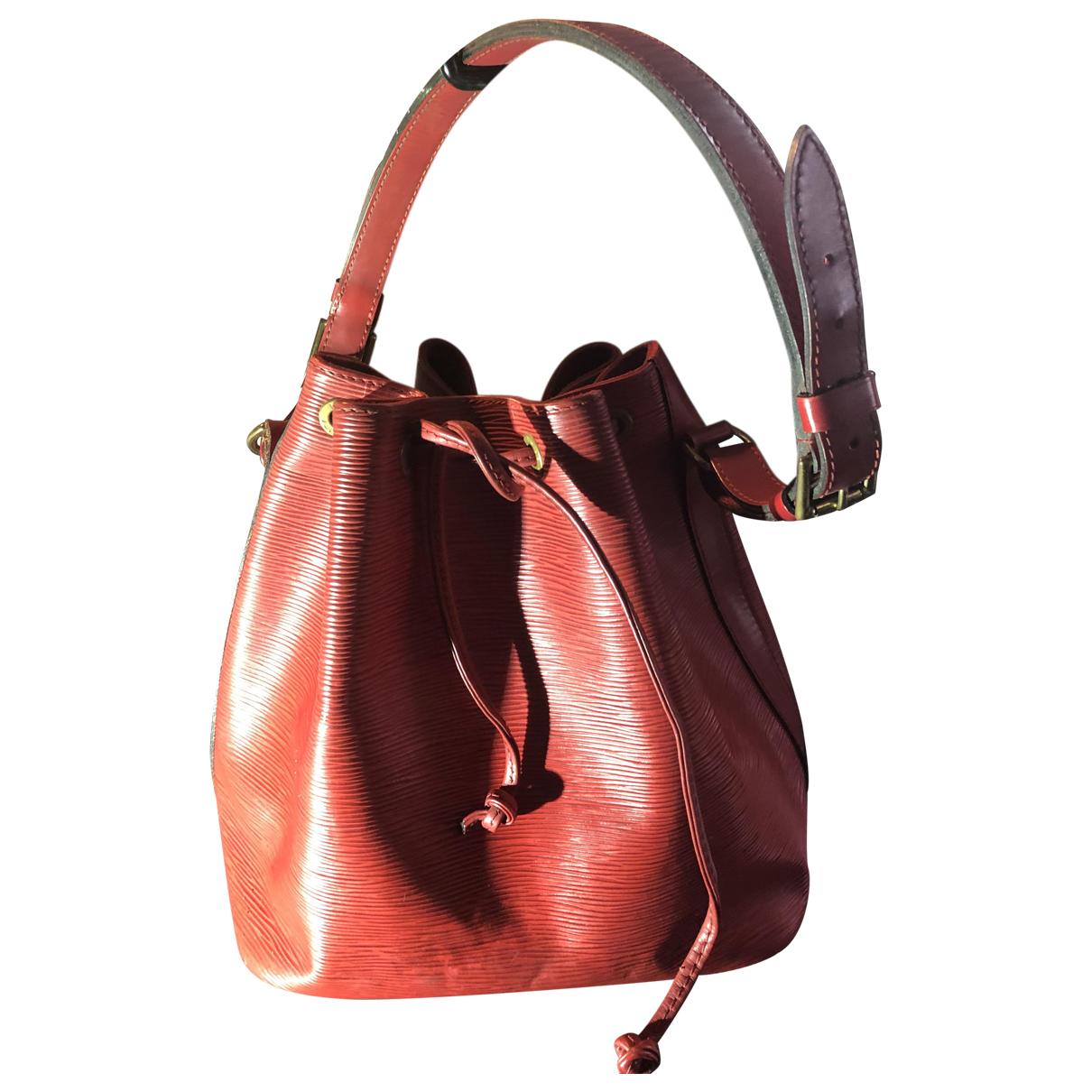Louis Vuitton Noé Red Leather handbag for Women N