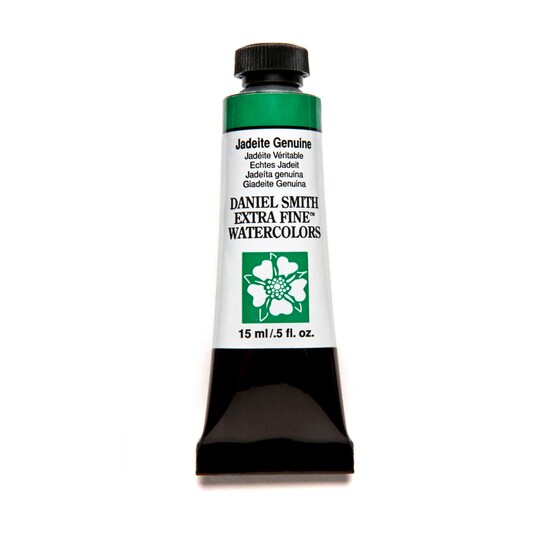 Daniel Smith Extra Fine™ Watercolor, 15 ml Paint in Jadeite Genuine | Michaels®