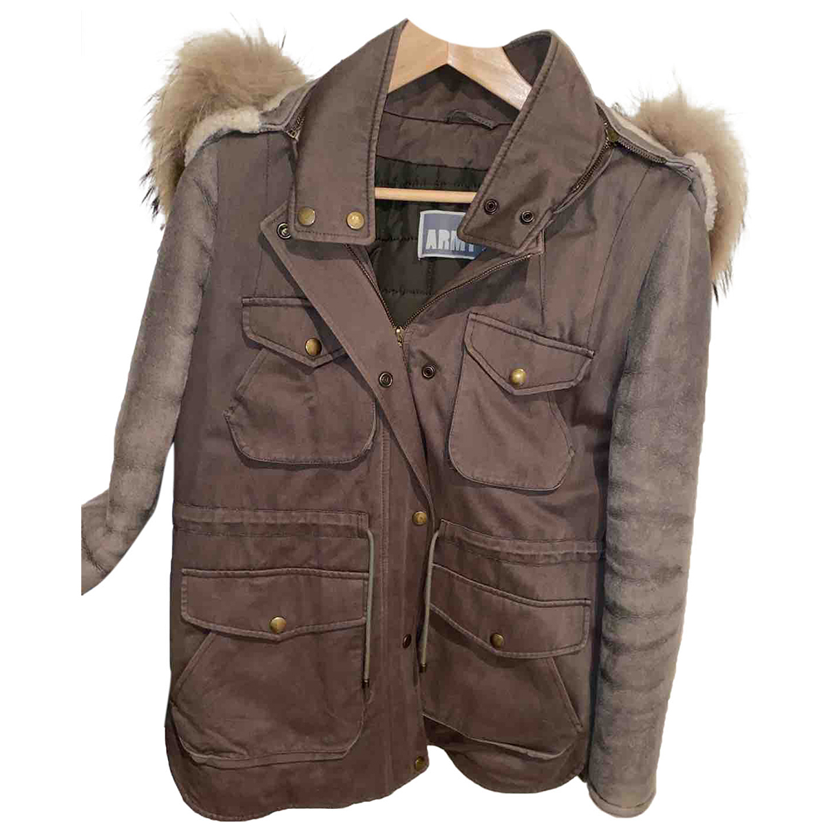 Yves Salomon N Leather coat for Women 34 FR