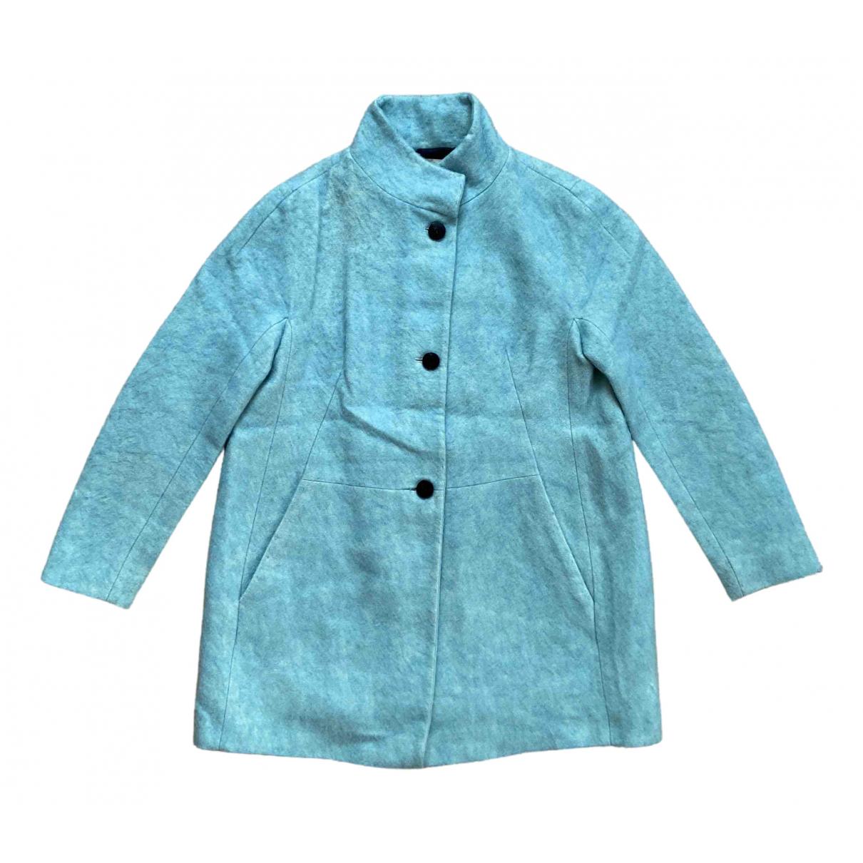 Zara \N Turquoise Wool coat for Women S International