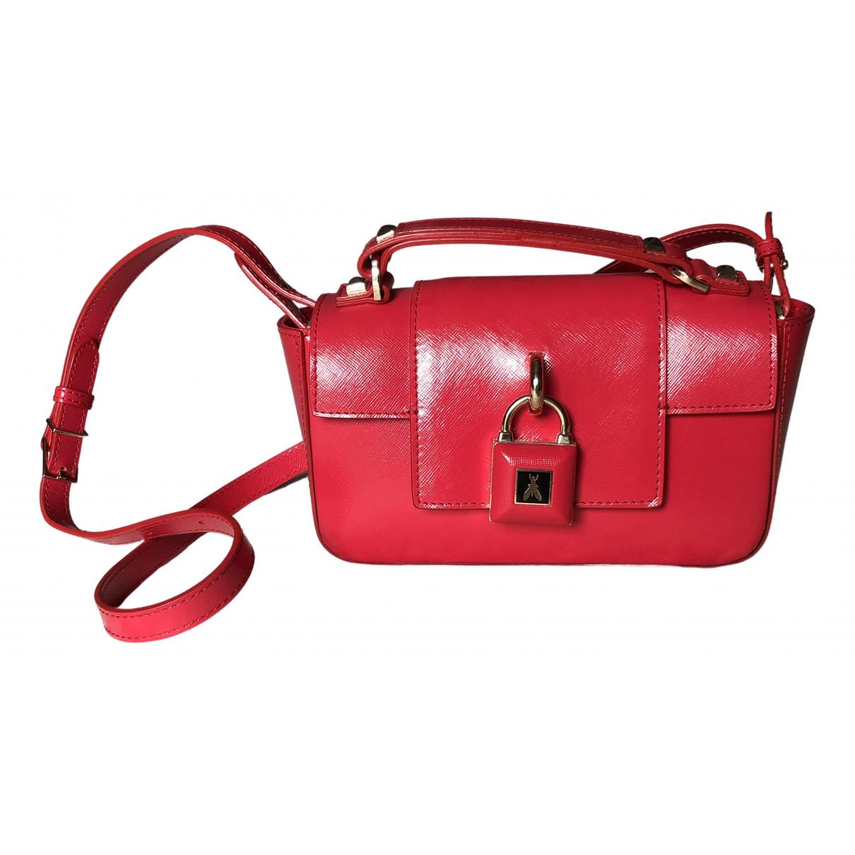 Patrizia Pepe - Pochette   pour femme en cuir - rouge