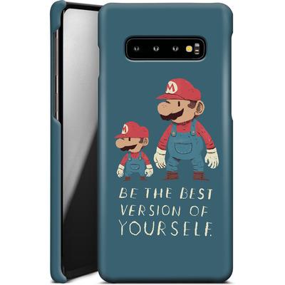 Samsung Galaxy S10 Plus Smartphone Huelle - Be The Best Version of Yourself von Louis Ros