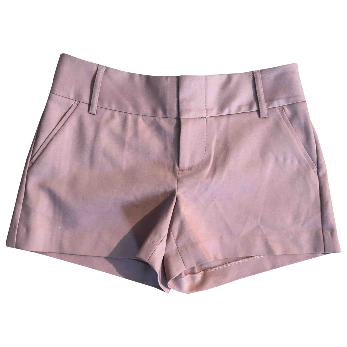 Alice & Olivia \N Pink Cotton Shorts for Women 0 0-5