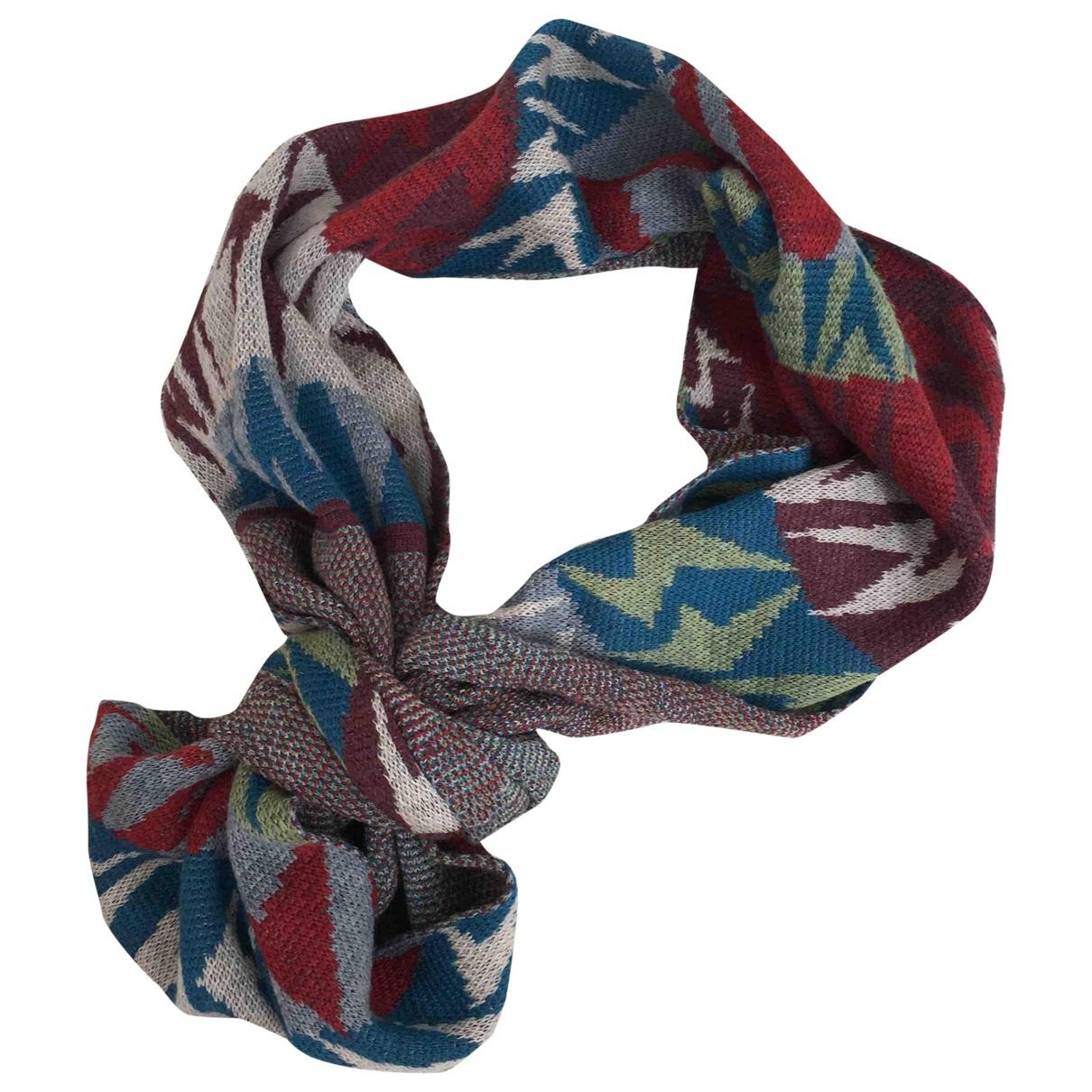 Vivienne Westwood - Foulard   pour femme en laine - multicolore