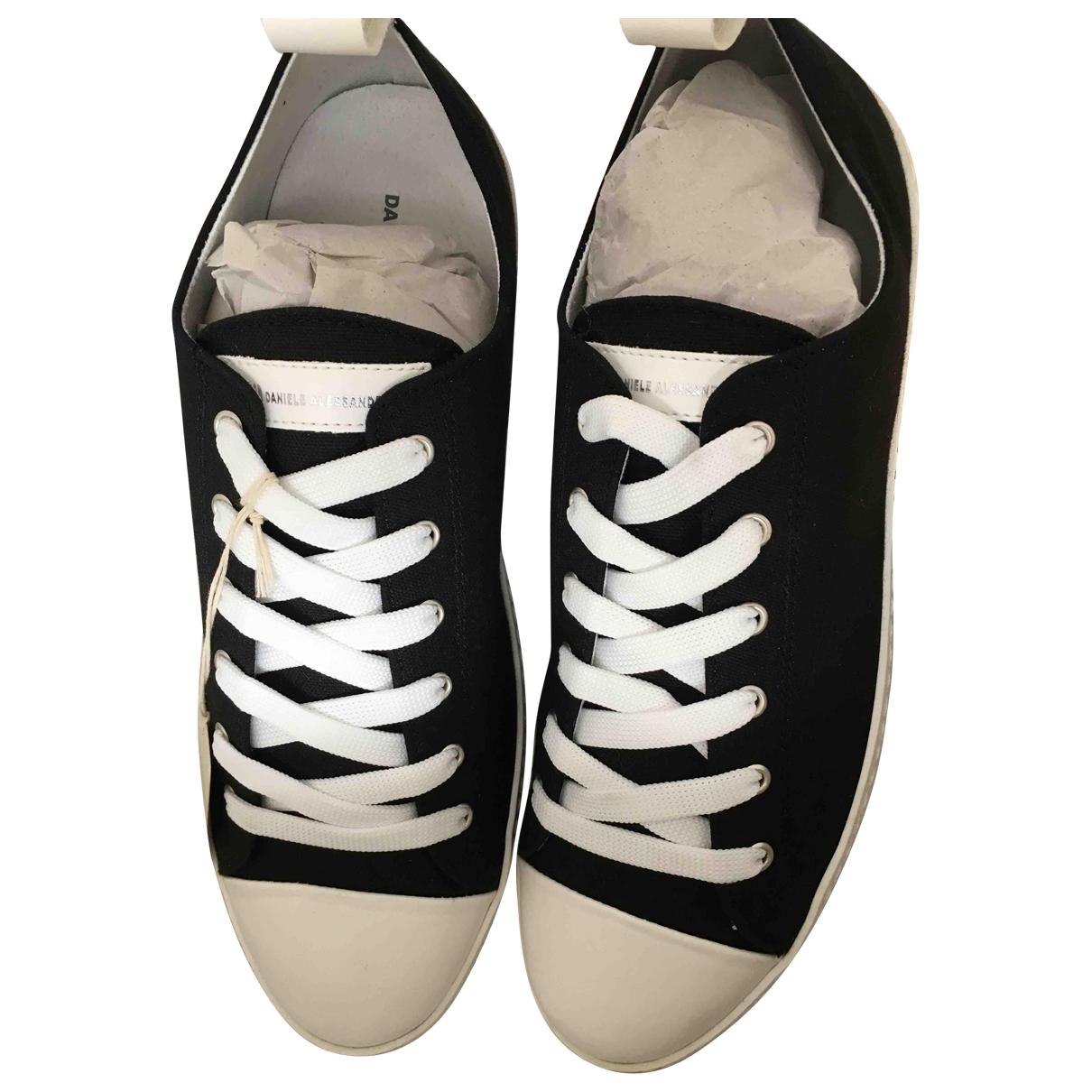 Daniele Alessandrini \N Sneakers in  Schwarz Leinen