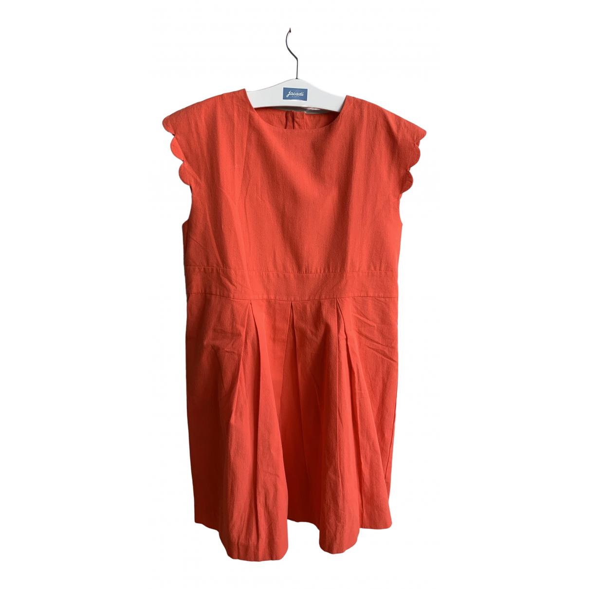 Jacadi - Robe    pour enfant en coton - orange