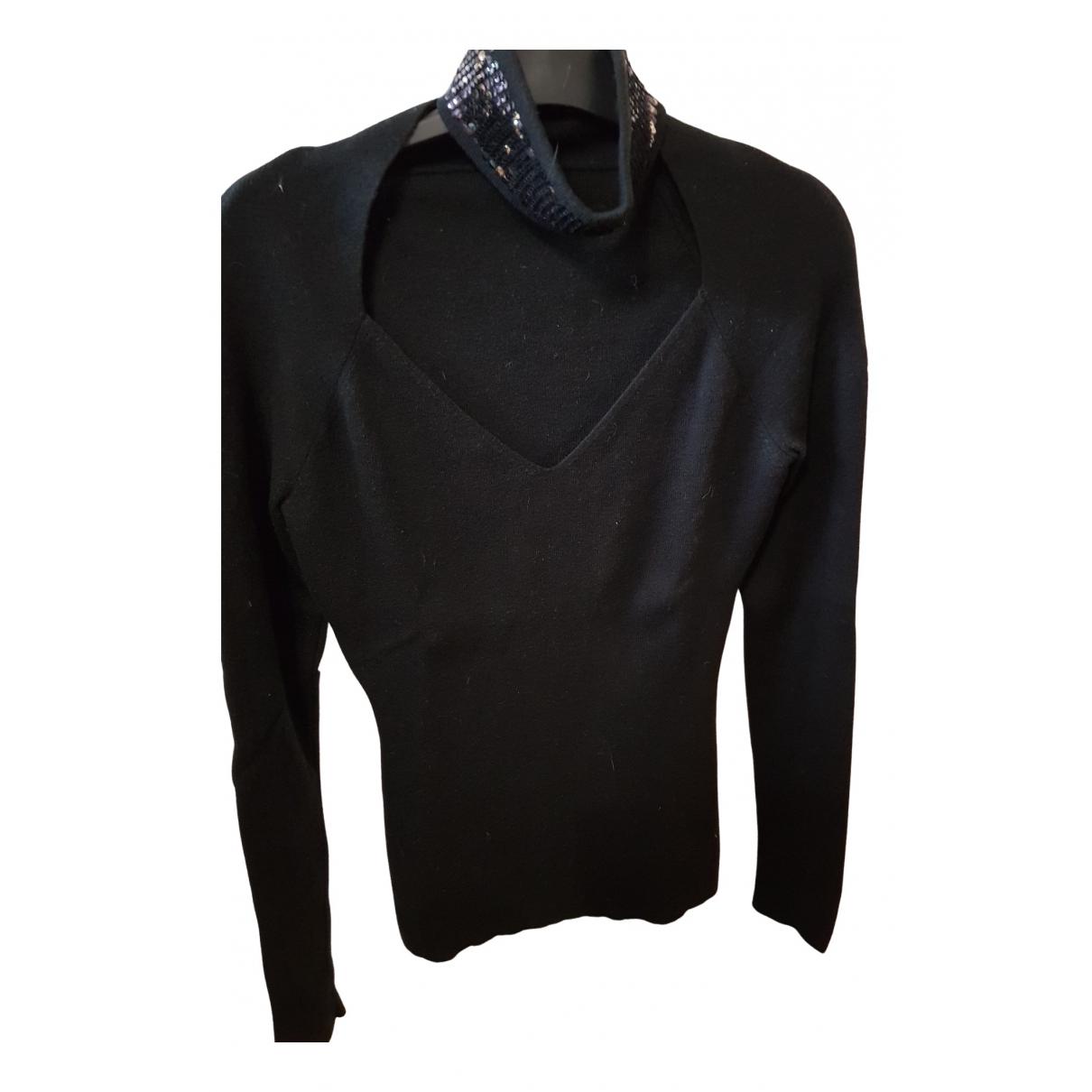 Zapa N Black Wool Knitwear for Women 38 FR