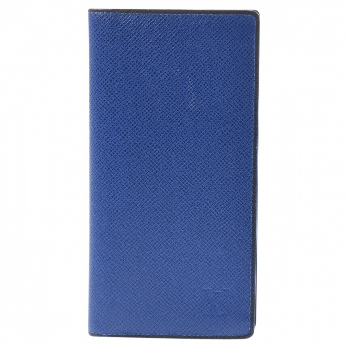Louis Vuitton \N Blue Leather Purses, wallet & cases for Women \N