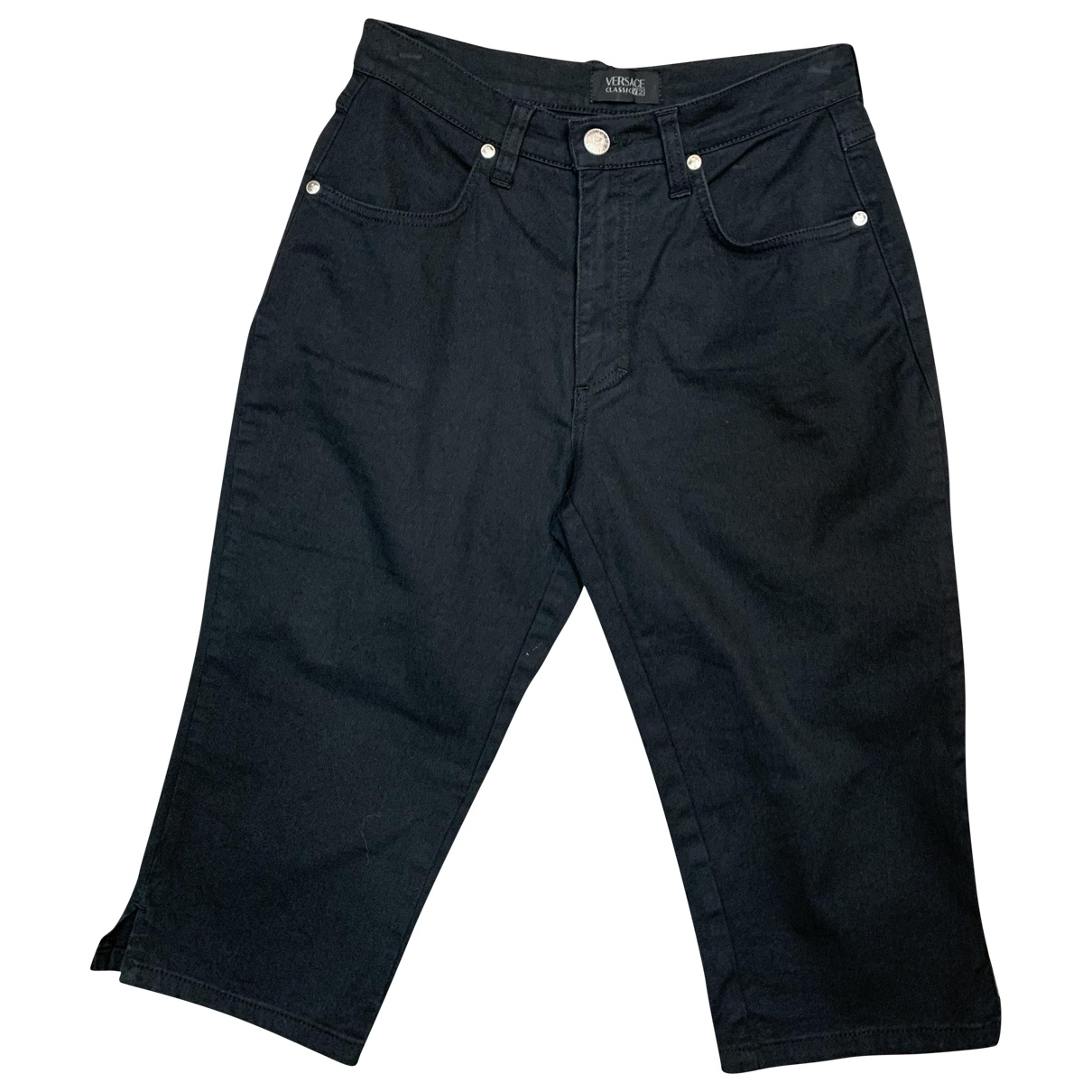 Versace \N Black Denim - Jeans Trousers for Women One Size IT