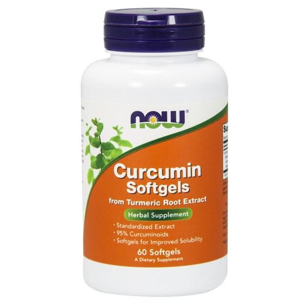 Curcumin Softgels 60 SOFTGELS by Now Foods