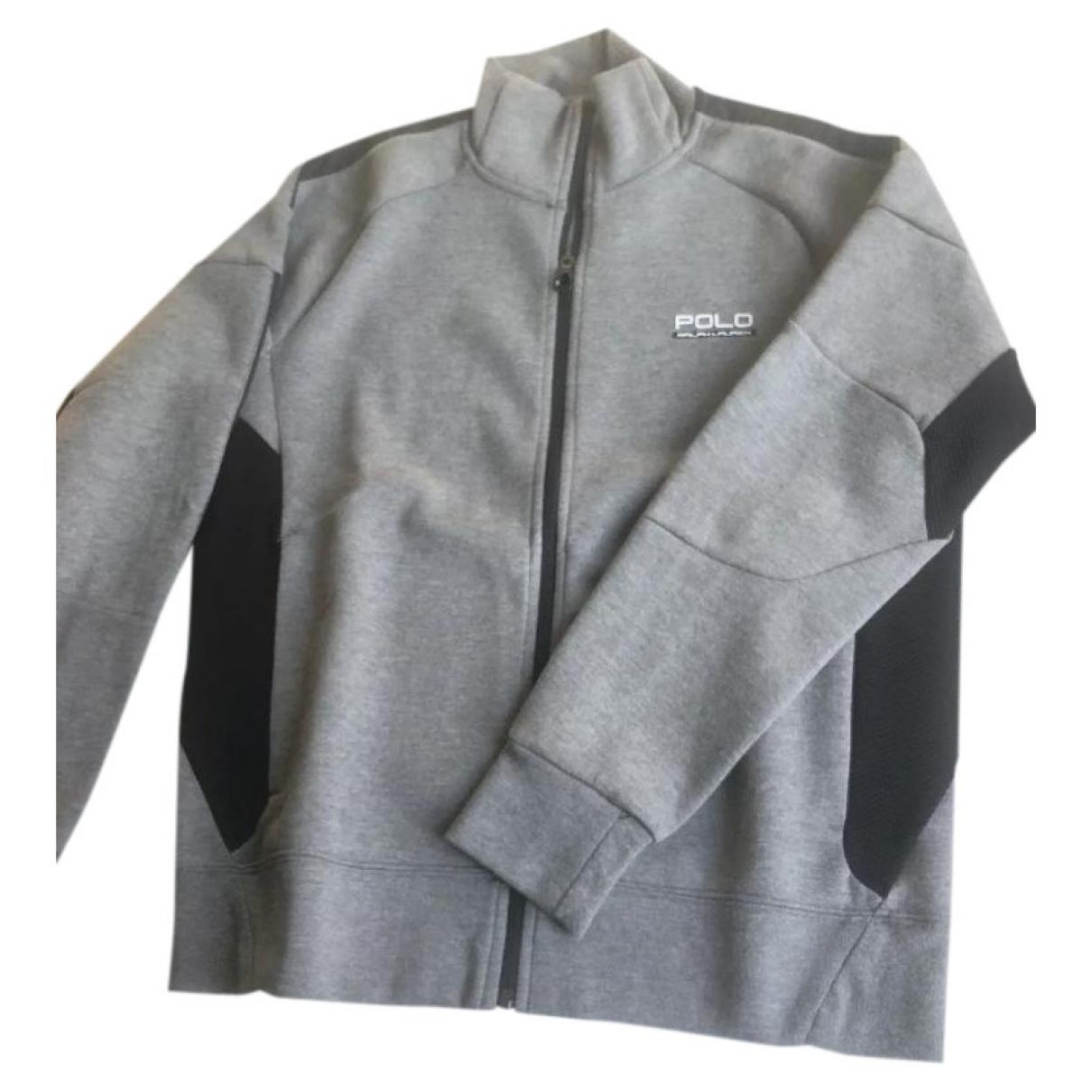 Polo Ralph Lauren \N Anthracite Cotton Knitwear & Sweatshirts for Men M International
