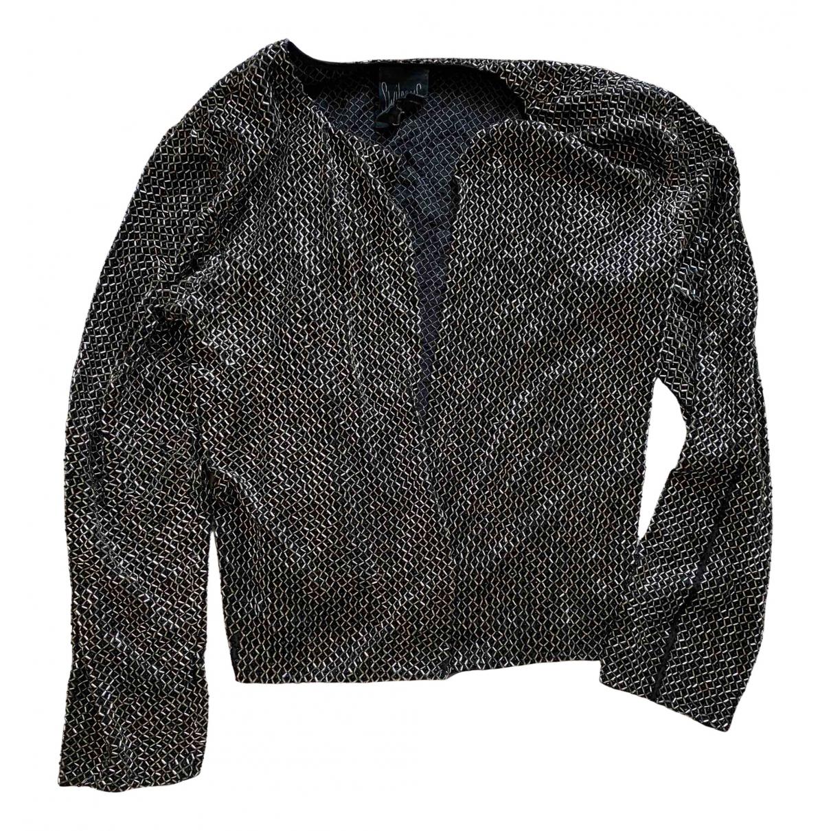 Swildens - Veste   pour femme en soie - metallise