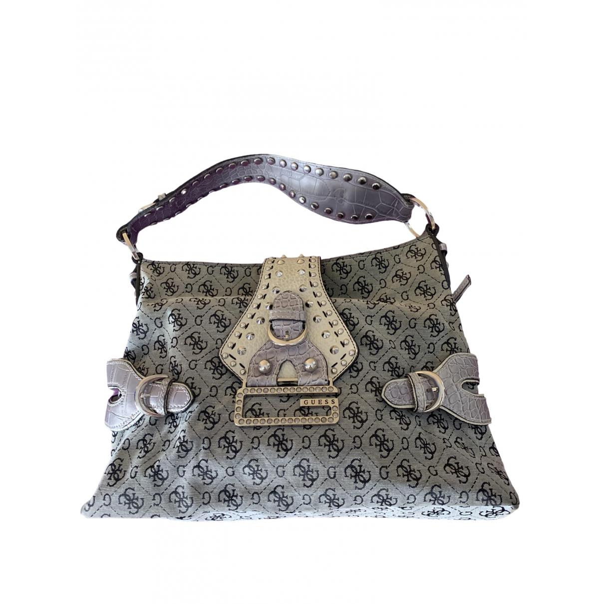 Guess \N Grey Cloth handbag for Women \N