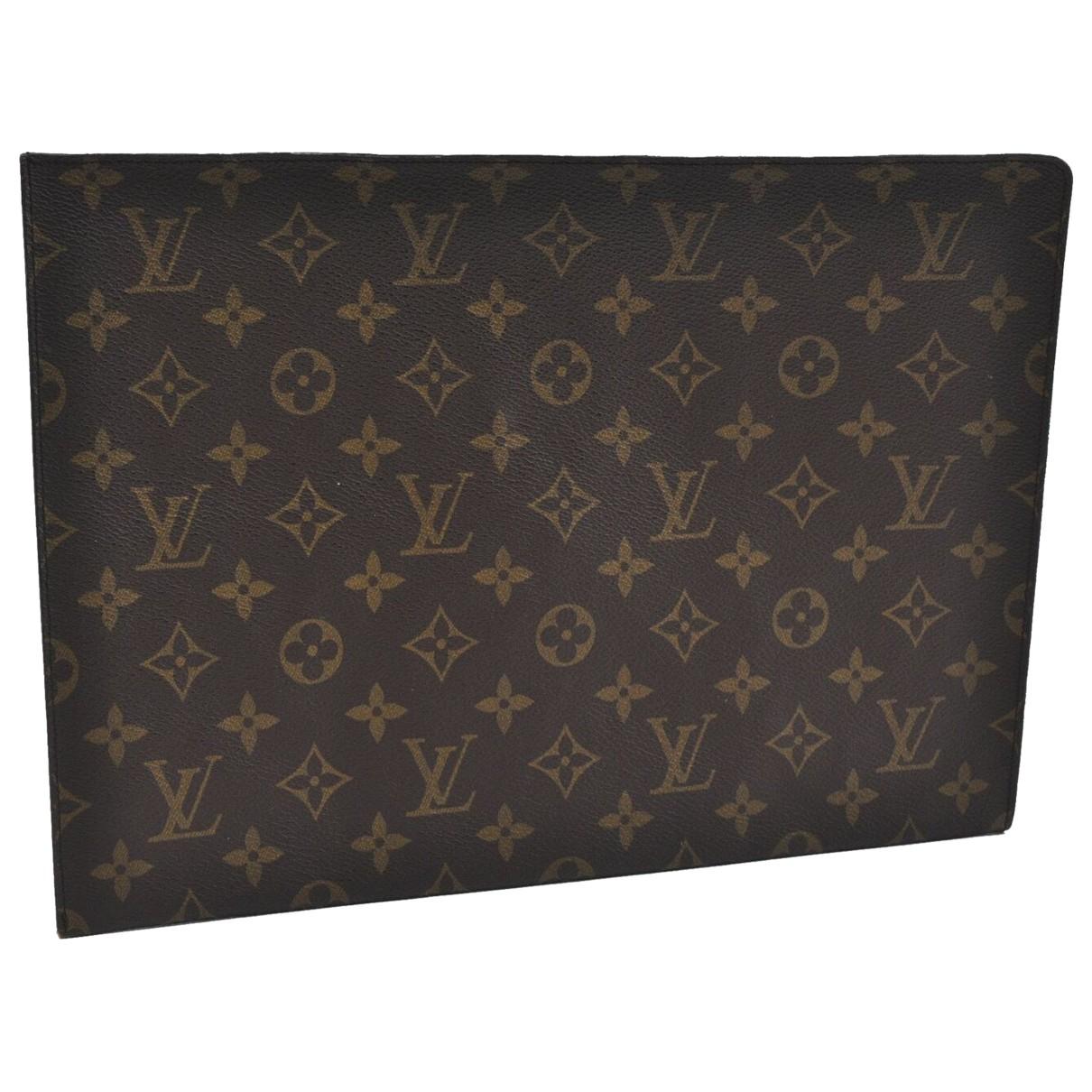 Louis Vuitton - Linge de maison   pour lifestyle en toile - marron