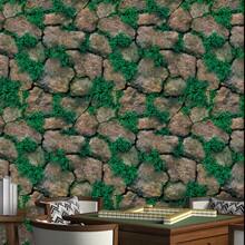 Pegatina de pared con patron de piedra