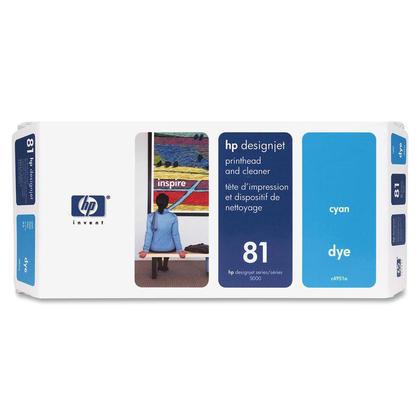 HP 81 C4951A cartouche d'encre originale cyan