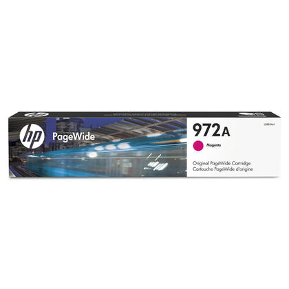 HP 972A L0R89AN cartouche d'encre PageWide originale magenta