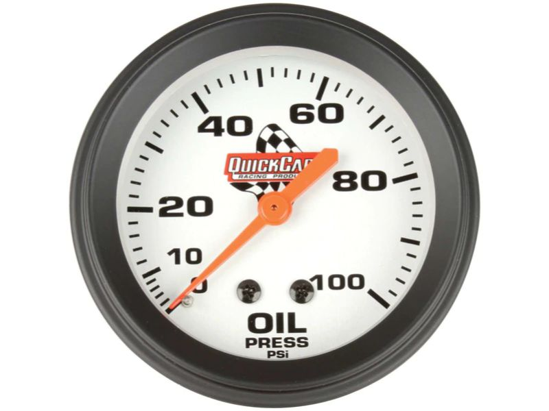 Quickcar Racing Products Oil Pressure Gauge 2-5/8 inches