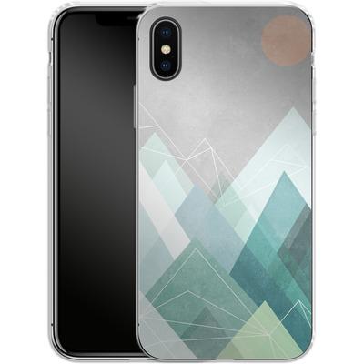 Apple iPhone X Silikon Handyhuelle - Graphic 107 X von Mareike Bohmer