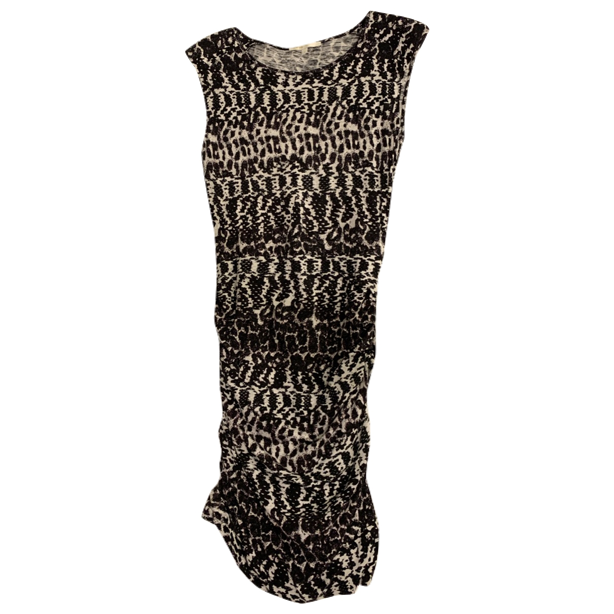 Maje \N Multicolour Cotton dress for Women 2 0-5
