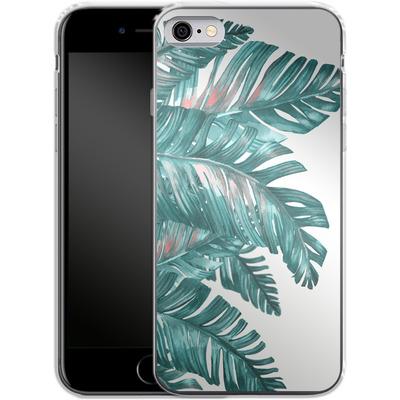 Apple iPhone 6s Silikon Handyhuelle - Tropical Blue von Mark Ashkenazi