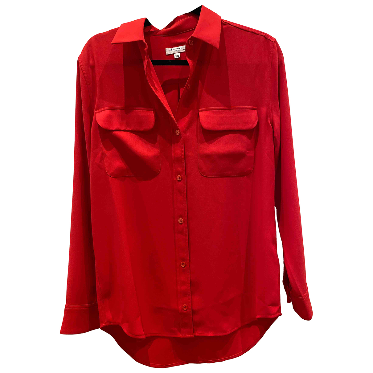 Equipment N Red  top for Women XS International