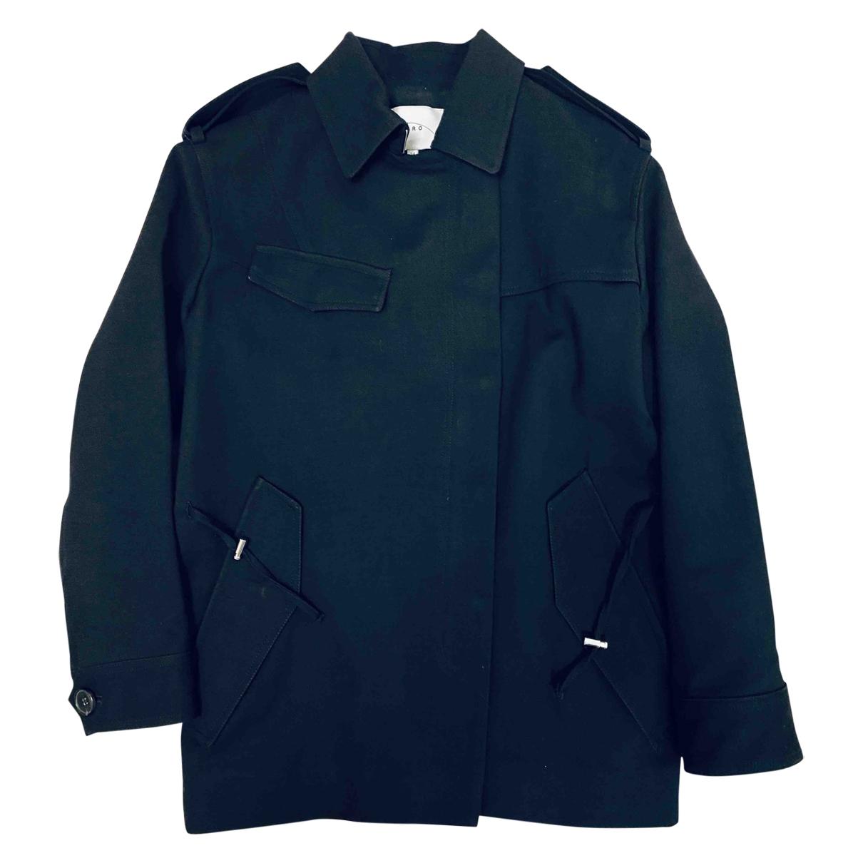 Iro \N Black Wool jacket for Women 34 FR