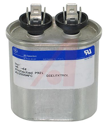 Genteq 24μF Polypropylene Capacitor PP 480V ac ±3% Tolerance GEM III 97F6000 Series