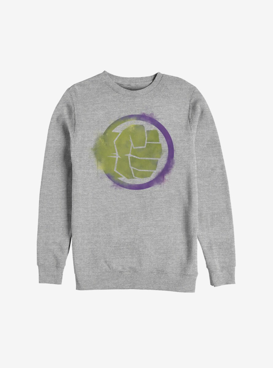 Marvel Hulk Spray Logo Sweatshirt