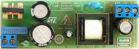 STMicroelectronics STEVAL-ISA081V1 Demonstration Board Power Supply for VIPER26 for Switched Mode Power Supply