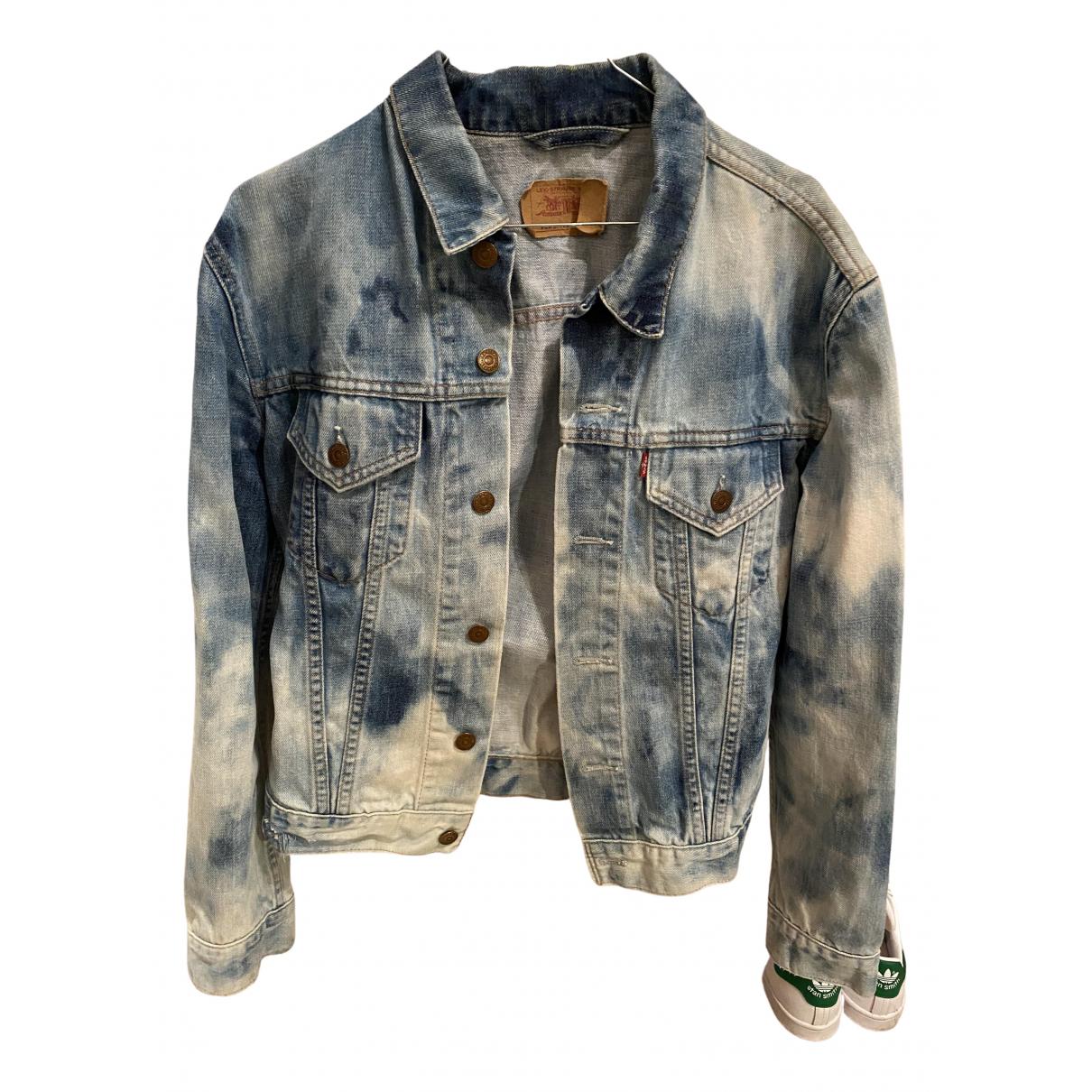 Levi's N Blue Denim - Jeans jacket for Women L International