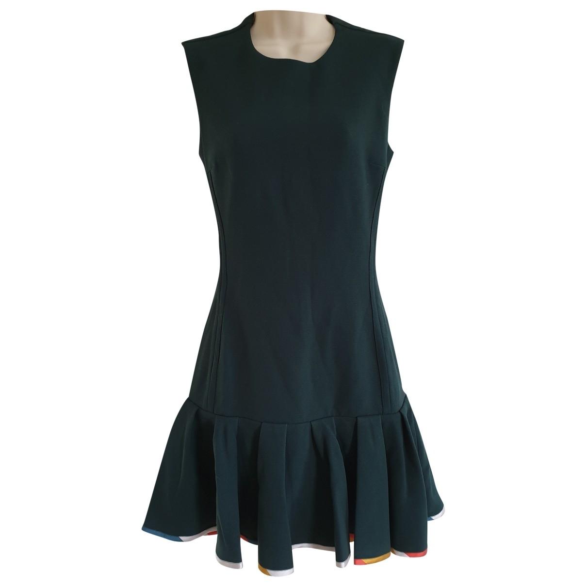 Ostwald Helgason \N Kleid in  Gruen Polyester