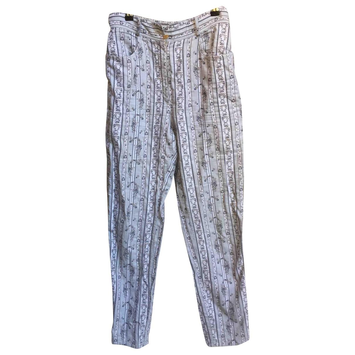 Pantalon en Algodon Moschino Love