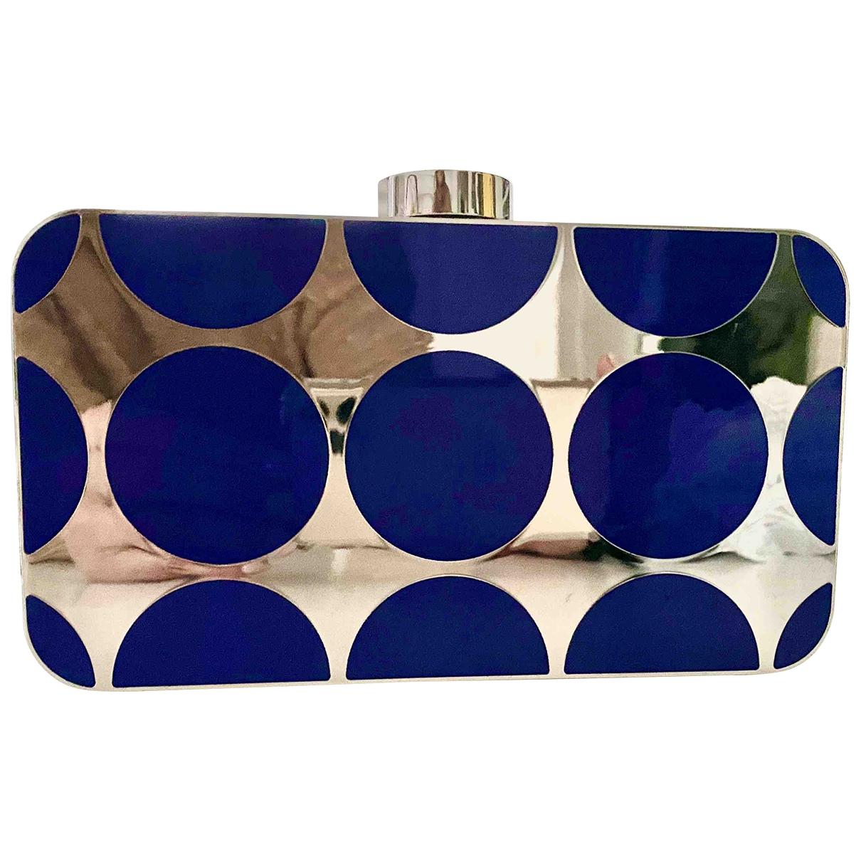 Manolo Blahnik \N Metallic Metal Clutch bag for Women \N