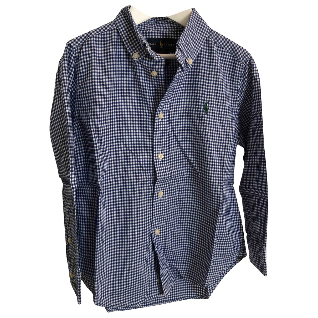 Ralph Lauren \N Blue Cotton  top for Kids 5 years - until 42.5 inches UK